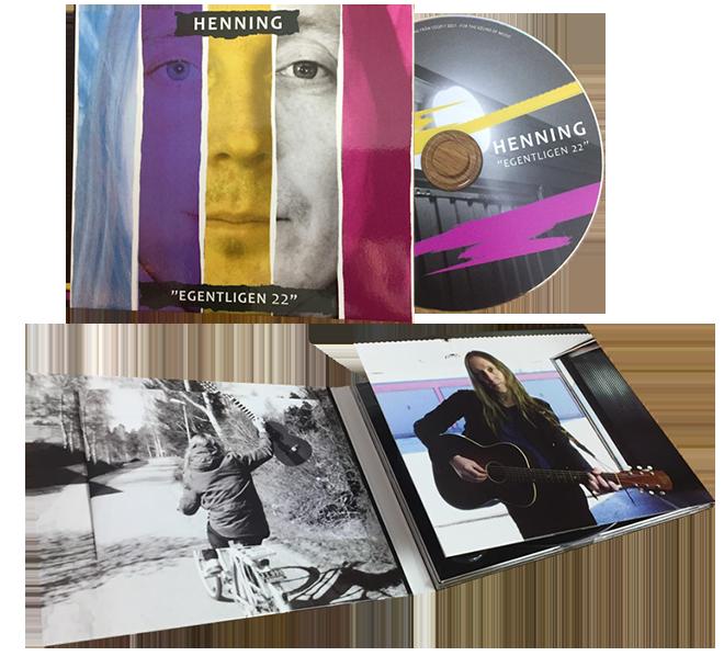 Nytt album - Egentligen 22 (konvolut)